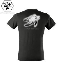 T-shirt MC - Truite gueule ouverte
