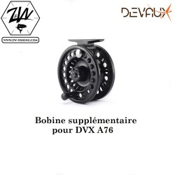 BOBINE SUPPLEMENTAIRE MOULINET DVX A76