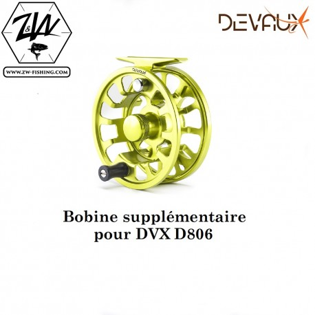 BOBINE SUPPLEMENTAIRE MOULINET DVX D806