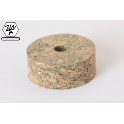 Burl Green cork discs
