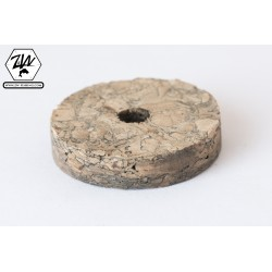 Rondelle de liège - Burl Marron