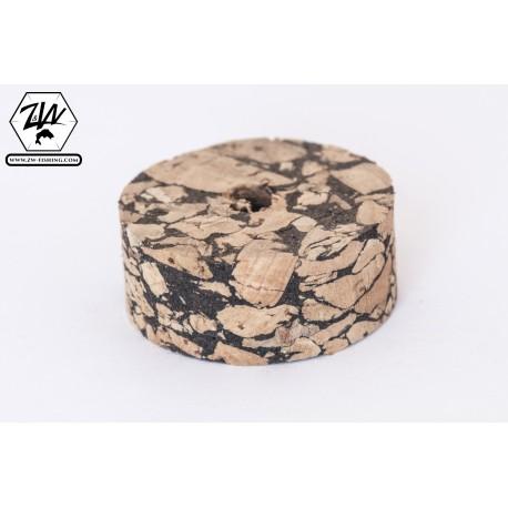 Burl Mix White cork discs