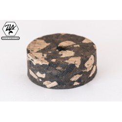 Burl Mix Black cork discs