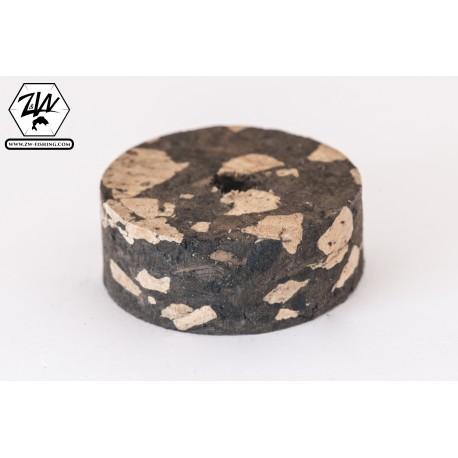 Burl Mix Black cork discs
