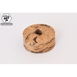 Horizontal wave cork discs