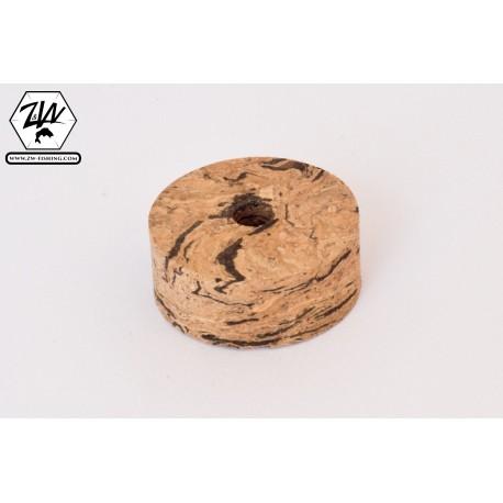 Horizontal wave cork discs