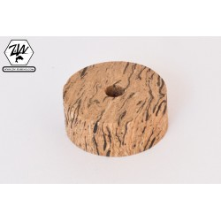 Vertical wave cork discs